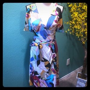 Diane Von Furstenberg Suriname wrap dress